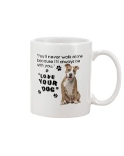 American Staffordshire Terrier With You Mug front