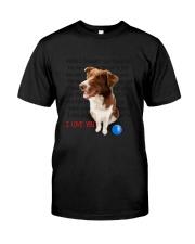 Border Collie - I love you 2006P Classic T-Shirt thumbnail