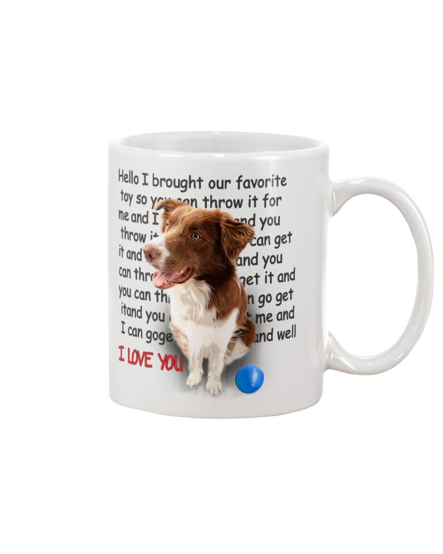 Border Collie - I love you 2006P Mug