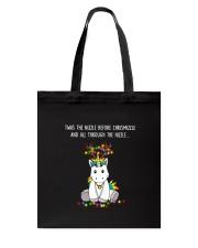 Unicorn Twas nizzle 1210 Tote Bag thumbnail