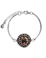 Pug Amazing  Metallic Circle Bracelet thumbnail