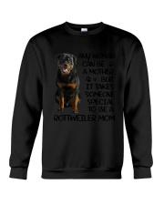 Rottweiler Mom Crewneck Sweatshirt thumbnail