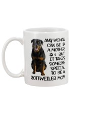 Rottweiler Mom Mug back