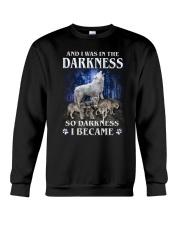 Wolf Became Darkness Crewneck Sweatshirt thumbnail