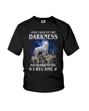 Wolf Became Darkness Youth T-Shirt thumbnail