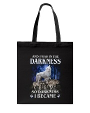 Wolf Became Darkness Tote Bag thumbnail