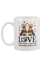 Yorkshire Terrier Love 1906 Mug back