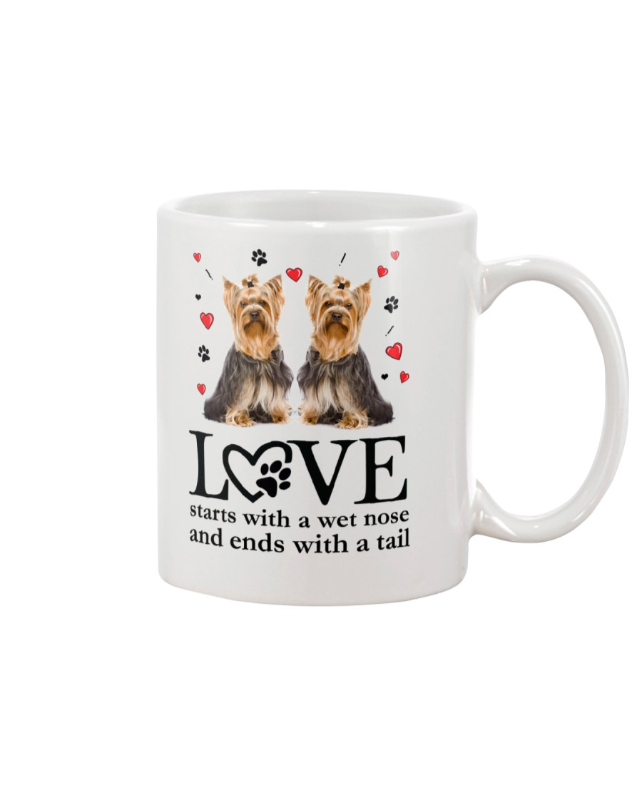 Yorkshire Terrier Love 1906 Mug