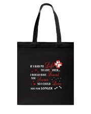 Rescue My Life Tote Bag thumbnail