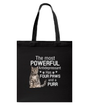 Cat Powerful paws 2006 Tote Bag thumbnail
