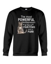 Cat Powerful paws 2006 Crewneck Sweatshirt thumbnail