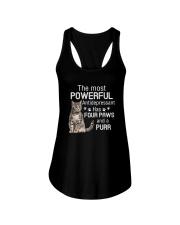 Cat Powerful paws 2006 Ladies Flowy Tank thumbnail