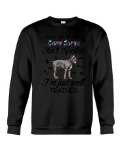 My Cane Corso is not spoiled 2006L Crewneck Sweatshirt thumbnail