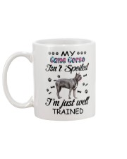 My Cane Corso is not spoiled 2006L Mug back
