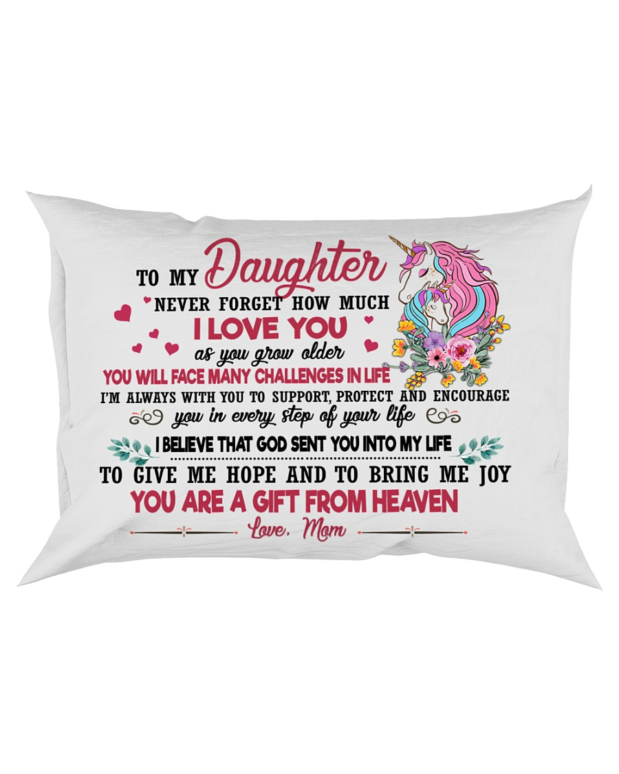 Unicorn You Are A Gift From Heaven 2409 Rectangular Pillowcase