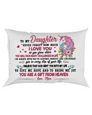 Unicorn You Are A Gift From Heaven 2409 Rectangular Pillowcase front