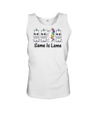 Unicorn Same is lame Unisex Tank thumbnail