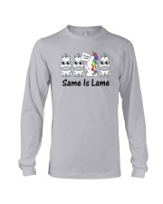 Unicorn Same is lame Long Sleeve Tee thumbnail