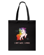 Unicorn sparkle Tote Bag thumbnail