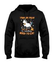 Unicorn trick or treat Hooded Sweatshirt thumbnail