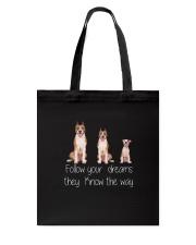 American Staffordshire Terrier Dreams Tote Bag thumbnail