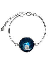 Polar Bear Patronus Metallic Circle Bracelet thumbnail