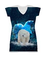Polar Bear Patronus All-over Dress thumbnail
