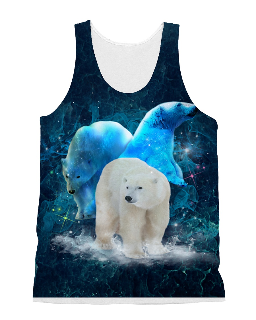 Polar Bear Patronus All-over Unisex Tank