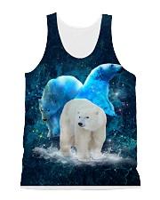 Polar Bear Patronus All-over Unisex Tank front