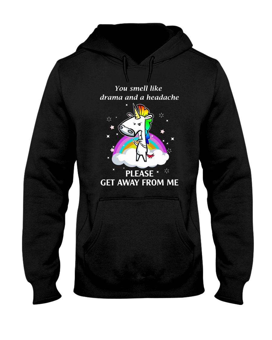 Unicorn get away 0911 Hooded Sweatshirt
