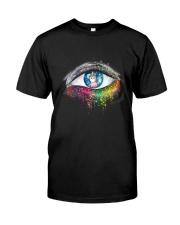 Unicorn In Eyes 2209 Classic T-Shirt thumbnail