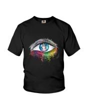 Unicorn In Eyes 2209 Youth T-Shirt thumbnail