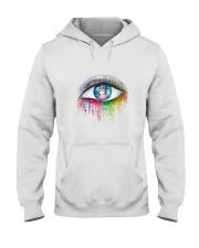 Unicorn In Eyes 2209 Hooded Sweatshirt front