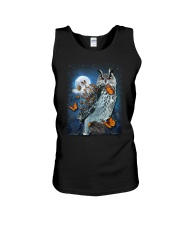 Owl and Butterfly Unisex Tank thumbnail
