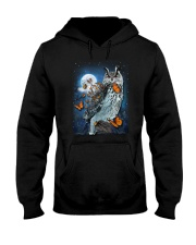 Owl and Butterfly Hooded Sweatshirt thumbnail