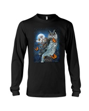 Owl and Butterfly Long Sleeve Tee thumbnail