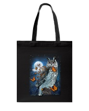 Owl and Butterfly Tote Bag thumbnail