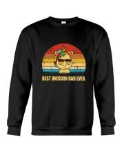 Unicorn Best Dad Ever 140319 Crewneck Sweatshirt thumbnail
