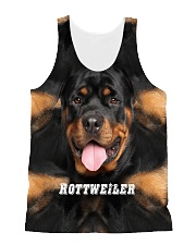 Rottweiler Cool 1406 All-over Unisex Tank front
