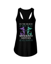 Mermaid Sister Ladies Flowy Tank tile