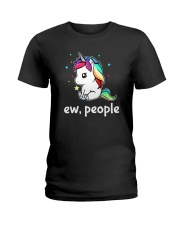 Unicorn Ew People 2609 Ladies T-Shirt thumbnail