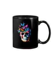 Skull Color Butterfly Mug tile
