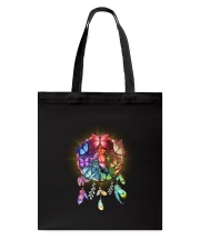 Rainbow butterfly dream catcher Tote Bag thumbnail