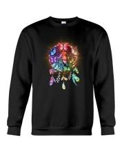 Rainbow butterfly dream catcher Crewneck Sweatshirt thumbnail