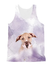 American Pit Bull Terrier Hold 1406 All-over Unisex Tank front