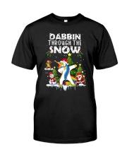 Unicorn Dabbin 0210 Classic T-Shirt thumbnail