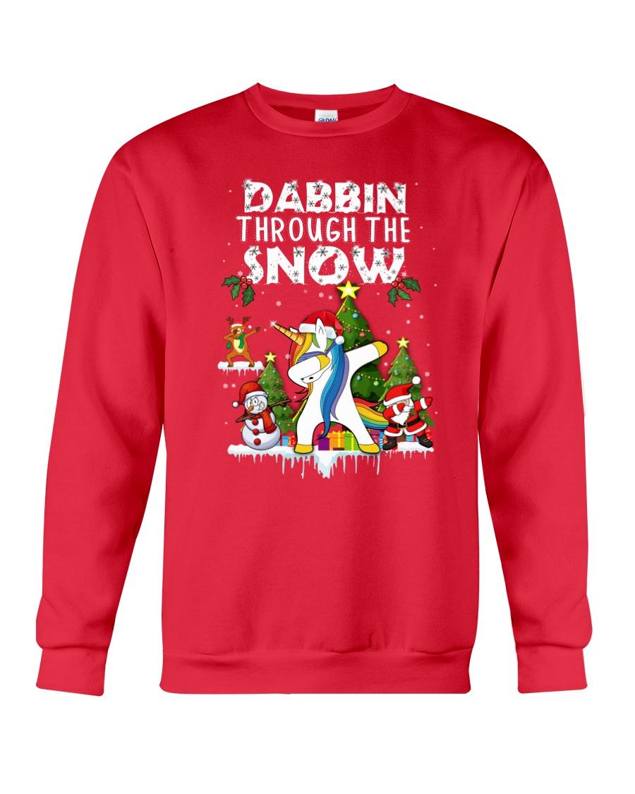 Unicorn Dabbin 0210 Crewneck Sweatshirt