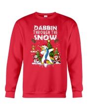 Unicorn Dabbin 0210 Crewneck Sweatshirt front