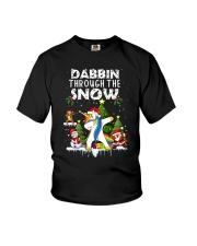 Unicorn Dabbin 0210 Youth T-Shirt thumbnail