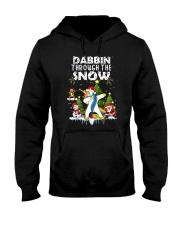 Unicorn Dabbin 0210 Hooded Sweatshirt thumbnail